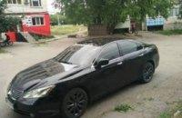 На Днепропетровщине угнали «Lexus»: полиция ищет свидетелей (ФОТО)