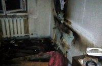 В Днепре на 12 квартале произошел пожар: пострадал мужчина