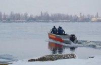 В Днепре прошли учения по спасению человека, провалившегося под лед (ФОТОРЕПОРТАЖ)