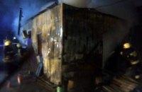 В Днепровском районе загорелось неэксплуатируемое здание