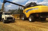 В Днепропетровской области осужденные начали сбор ранних зерновых