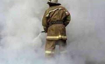 В Днепропетровской области во время пожара погиб человек
