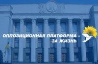 «Оппозиционная платформа – За жизнь» требует признать утратившим силу постановление о Программе деятельности Кабинета министров