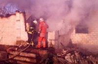 На Днепропетровщине произошел пожар в одноэтажном доме: есть жертвы