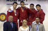 Сергей Рыбалка поздравил молодежную сборную Украины по самбо с отличным результатом на чемпионате мира в Сербии