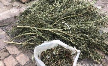 Хранил наркотики в сарае: в Днепре у мужчины изъяли марихуану стоимостью 2 млн. гривен
