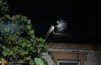 В Кривом Роге спасатели потушили пожар в доме за 40 минут