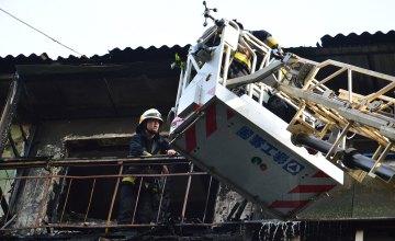 В Новокодацком районе Днепра горела пятиэтажка: есть погибшие