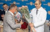 Днепропетровская областная больница отмечает 40-летие