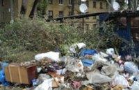 В Днепропетровске образовалась новая несанкционированная свалка бытовых отходов