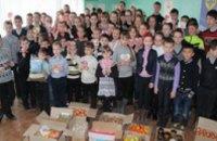 Синельниковские школьники отправили на передовую фрукты и овощи