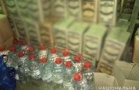 В Киеве обнаружили крупное подпольное производство алкоголя в гаражах