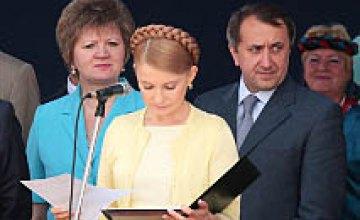 Визит Премьер-министра Юлии Тимошенко в «Агро-Союз» (ФОТОРЕПОРТАЖ)