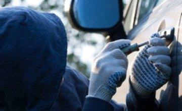 В Новомосковске задержали 22-летнего автоугонщика