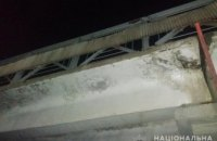 В Днепре пьяный мужчина сообщил о заминировании пешеходного моста на ж/д вокзале