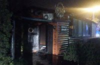 В Днепре сгорело кафе: огнем уничтожено более 100 кв. метров