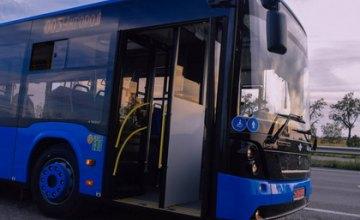 До конца лета все автобусные маршруты Днепра перейдут на движение по расписанию
