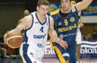 Днепропетровские баскетболисты сыграли на Кубке Мечела