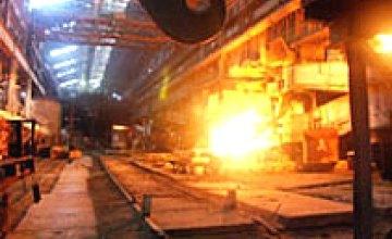 Объемы производства металлургических предприятий Украины в ноябре снизились больше чем на 50%