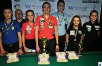 Днепряне завоевали «золото» и «бронзу» на Кубке Украины по бильярдному спорту