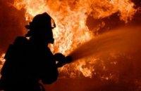 Ночью в Днепре  на проспекте Героев горел колбасный киоск (ФОТО)