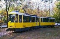 В Днепре трамвай №1 временно приостанавливает свой маршрут