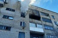 В Днепропетровской области из горящей квартиры  спасли мужчину