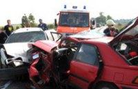 В 1 квартале в Днепропетровской области аварийность на автодорогах снизилась