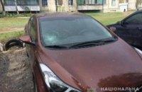 На Днепропетровщине мужчина во дворе многоэтажек разбил 25 машин