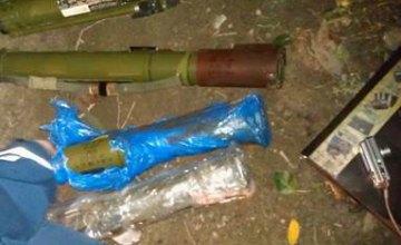В Днепропетровской области правоохранители задержали местных жителей при попытке продать гранатометы