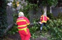 В Днепре спасатели ликвидировали последствия непогоды