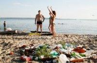 Пляжи Днепра погрязли в мусоре, - Госпотребслужба