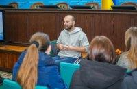 В ДнепрОГА необычный путешественник Дмитрий Щебетюк рассказал о своем путешествии на инвалидной коляске – Валентин Резниченко