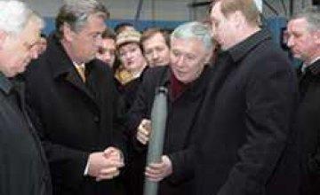Виктор Ющенко посетил государственный химзавод в Павлограде