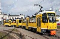 Сегодня в Днепре трамвай №15 будет курсировать по сокращенному маршруту
