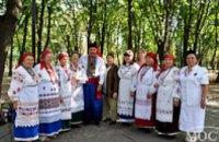 В Днепропетровске стартовал областной фестиваль-ярмарка «Петриківський дивоцвіт» (ФОТОРЕПОРТАЖ)