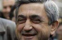 Новым президентом Армении стал Серж Саркисян