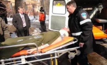 В Днепропетровске на Рабочей произошел взрыв газа (ФОТО)