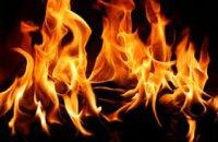 В Днепре горел продуктовый магазин