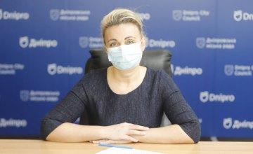 Актуальні дані щодо ситуації із захворюваністю на коронавірус у Дніпрі