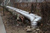 В Приднепровске коммунальщики за ночь ликвидировали два прорыва теплотрассы