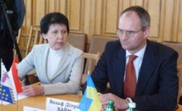 Сегодня Александр Вилкул встретился с австрийским послом