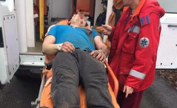 В Днепре мужчина бегом и вплавь пытался сбежать от патрульных
