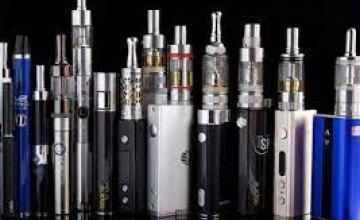 В Украине расширили список подакцизных табачных изделий: добавились электронные сигареты и жидкости для них