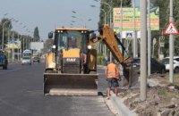 Продолжается круглосуточный ремонт самой длинной улицы Павлограда (ФОТО)