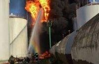 Экологи признали опасной зону радиусом 10 км от эпицентра пожара на нефтебазе под Киевом