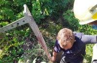 В Желтых Водах мужчина провалился в погреб: на помощь пришли спасатели (ФОТО)
