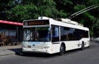 21 октября в Днепре приостанавливается движение электротранспорта по центральному проспекту