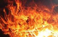 В Днепре горел жилой дом: есть пострадавшие