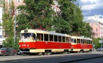 25 и 26 марта некоторые  трамваи в Днепре будут курсировать по измененному маршруту